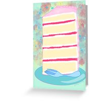Sweet Stack Blue Greeting Card