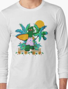 SURFING GUMBY Long Sleeve T-Shirt
