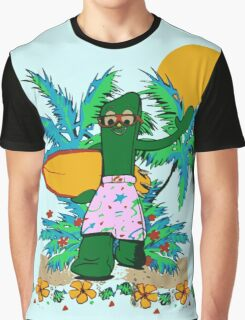 SURFING GUMBY Graphic T-Shirt