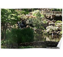 The Old Mill pond Poster