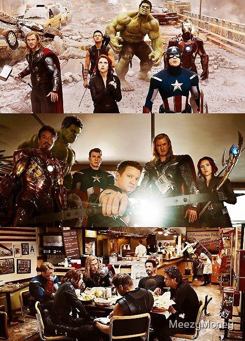 The Avengers by MeezyMoney
