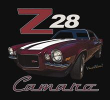 71 Z28 Camaro T-Shirt from VivaChas! by ChasSinklier