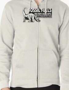 Fossil Fuel Zipped Hoodie