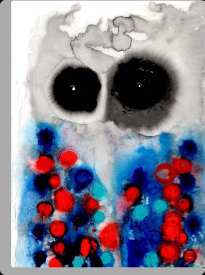 Owl 3 by Julie  Sutherland