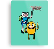 Nintendo Time Metal Print