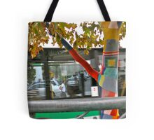 26/4 the knitted tree again Tote Bag