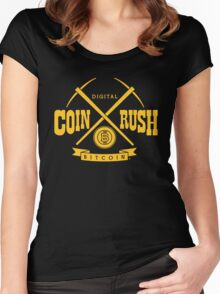 Coin Rush Women's Fitted Scoop T-Shirt