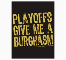 Burghasm Sticker by AngryMongo