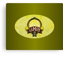 LEMON ALE Canvas Print