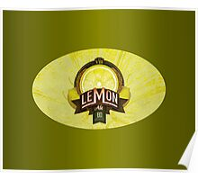 LEMON ALE Poster