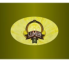 LEMON ALE Photographic Print