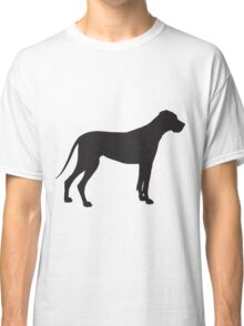 Great Dane Silhouette Classic T-Shirt