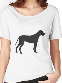 Great Dane Silhouette Women's Relaxed Fit T-Shirt