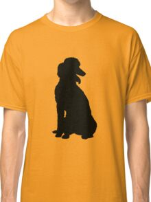 Poodle Silhouette Classic T-Shirt