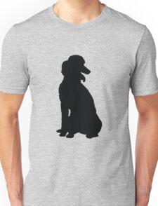 Poodle Silhouette Unisex T-Shirt
