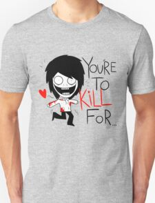 Jeff The Killer Loves You T-Shirt