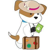Puppy Travel by Maria Bell