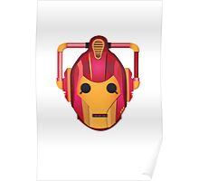 cyber iron man Poster