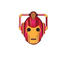 cyber iron man Photographic Print