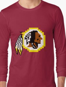 8Bit Redskins Tee - Esquire 3nigma Long Sleeve T-Shirt