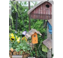 Bird Houses Galore iPad Case/Skin