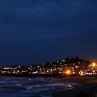 Margate by night by Antionette
