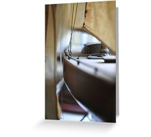 A Collection of Pond Yachts I Greeting Card
