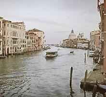 The Grand Canal, Venice. by Irina Chuckowree