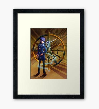 Detective of Fortune Framed Print