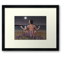 Zodiac series - Cancer Framed Print