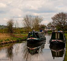 Slow Down, Moorings by David J Knight