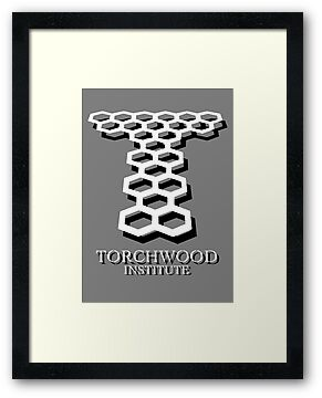 Torchwood Logo (White & Black) by Bastien13