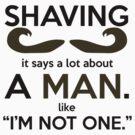 Shaving by SwordStruck