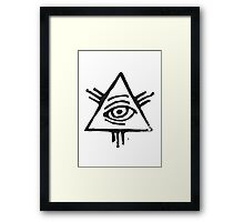 Eye of Providence Framed Print