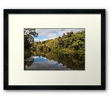 Castlecomer Lakes Framed Print