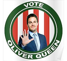 Oliver Queen for Mayor Poster