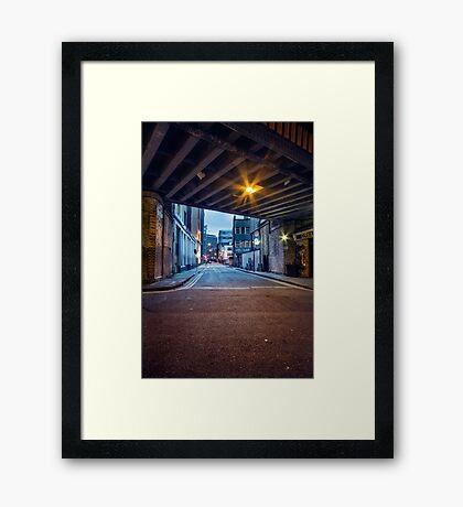 Tara Street, Dublin, Ireland Framed Print