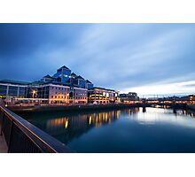 Dublin Quay, Ireland Photographic Print