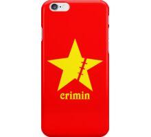 Crimin red iPhone Case/Skin