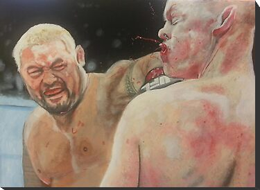 Mark Hunt vs Stephan Struve by AnthroEmesis