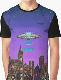 City Night Graphic T-Shirt