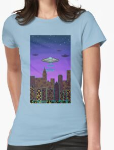 City Night Womens Fitted T-Shirt