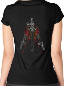 Dante line color Women's Fitted Scoop T-Shirt