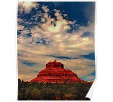 Bell Rock, Red Rock Country, Sedona, Arizona Poster