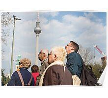 Tourist's in Berlin Poster