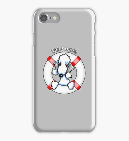 Bedlington Terrier :: First Mate iPhone Case/Skin