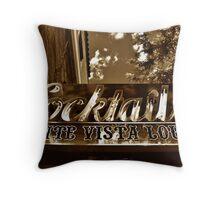 Hotel Monte Vista, Flagstaff, Arizona Throw Pillow