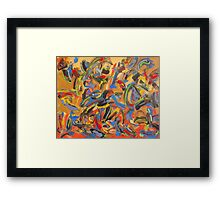 Out of panic Framed Print