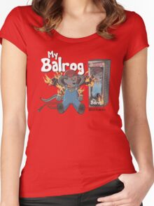 My Balrog And Me Women's Fitted Scoop T-Shirt