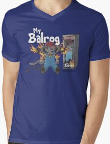 My Balrog And Me Mens V-Neck T-Shirt